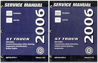 2006 Chevy Colorado & GMC Canyon Factory Shop Service Manual Set Used