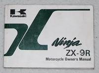 Kawasaki Ninja ZX-9R Motorcycle Owner's Manual