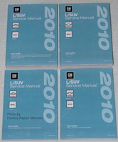 2010 Chevy Equinox GMC Terrain Service Manual Original Shop Repair 4 Volume Set