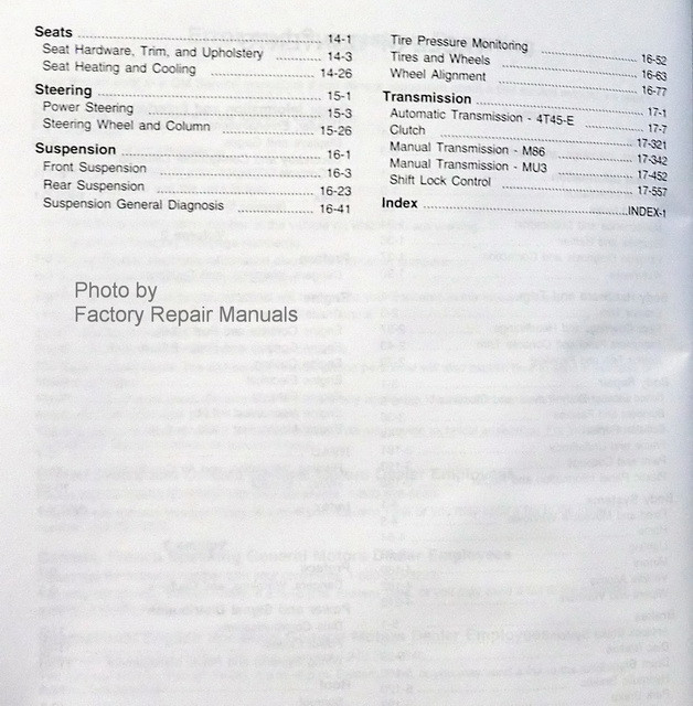 chevy cobalt service manual