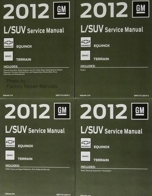 2012 chevy equinox gmc terrain service manual original shop repair rh factoryrepairmanuals com 2014 gmc terrain service manual gmc terrain service manual 2012