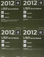 2012 GM L/SUV Service Manual Chevrolet Equinox GMC Terrain Volumes 1 - 4
