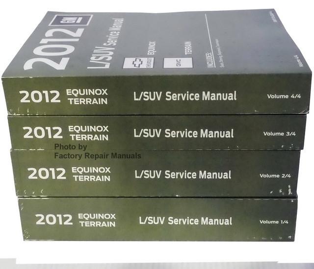 2012 chevy equinox gmc terrain service manual original shop repair rh factoryrepairmanuals com 2011 gmc terrain service manual 2015 gmc terrain service manual