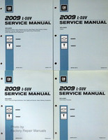 2009 Chevy Equinox Pontiac Torrent Factory Shop Repair Service Manual Set