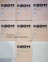 2011 CK9/Trk Service Manual Chevrolet Silverado GMC Sierra Volumes 1 thru 7