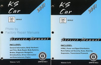 2007 Cadillac Deville, DTS KS Car Service Manuals