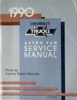 1990 Chevrolet Trucks Astro Van Service Manual