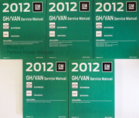2012 Chevy Express & GMC Savana Van Factory Service Manuals