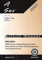 2007 Chevrolet HHR Factory Service Manual  Set Original Shop Repair