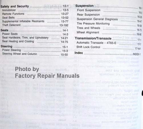 2007 chevy impala monte carlo service manual original shop repair rh factoryrepairmanuals com Monte Carlo 2009 Monte Carlo 2009