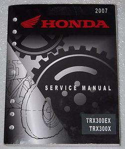 2007 2008 2009 honda trx300x sportrax factory service manual shop rh factoryrepairmanuals com 2009 honda cr v service manual pdf 2009 honda fit service manual pdf