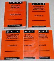 2000 Dodge Durango Factory Service Manual & Diagnostic Set - Original Shop Repair