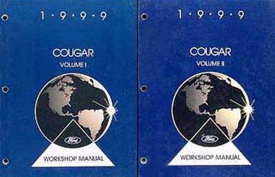 1999 mercury cougar factory shop service manual set factory repair rh factoryrepairmanuals com 1999 Mercury Cougar Codes 1996 Mercury Grand Marquis Repair Manual