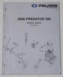 2006 polaris predator 500 service manual atv factory dealer shop rh factoryrepairmanuals com 2003 polaris predator 500 service manual 2003 polaris predator 500 service manual pdf