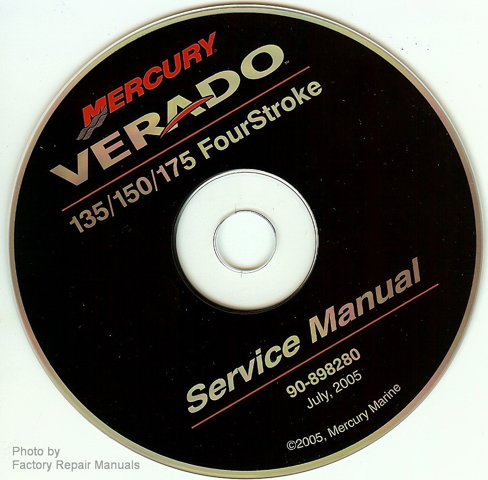 mercury verado 4 stroke 135 150 175 outboard factory shop service rh factoryrepairmanuals com 2008 mercury verado 150 manual 2012 mercury verado 150 manual