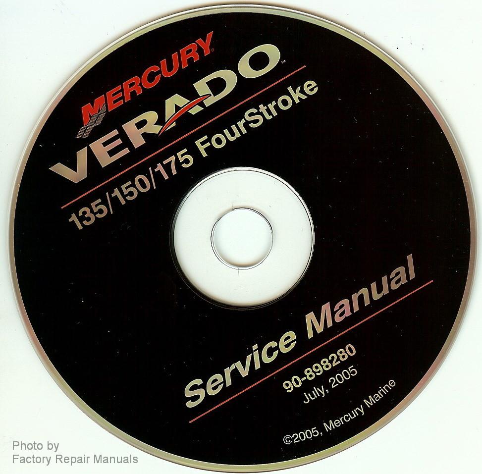 mercury verado 4 stroke 135 150 175 outboard factory shop service rh factoryrepairmanuals com mercury service manual 23 mercury service manual #26