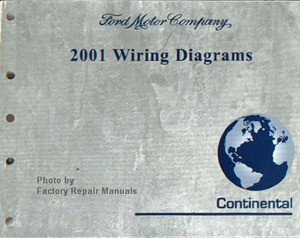 2001       Lincoln       Continental    Electrical    Wiring       Diagrams     Original Shop Manual  Factory Repair Manuals