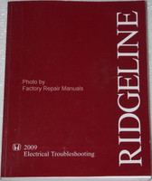 2009 Honda Ridgeline Electrical Troubleshooting Manual Shop ETM