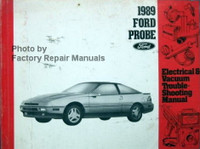1989 Ford Probe Electrical & Vacuum Troubleshooting Manual