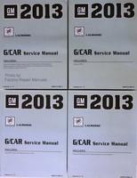 2013 Buick LaCrosse Factory Service Manual Set Original Shop Repair