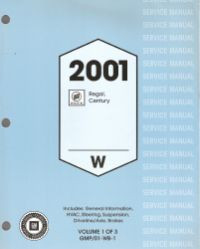 2001 buick century regal factory service manual complete 3 2001 buick century regal factory service manual complete 3 volume set publicscrutiny Choice Image