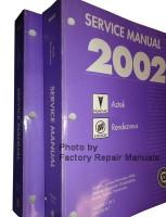 Service Manual 2002 Pontiac Aztek Buick Rendezvous