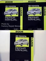 2008 Toyota Yaris Repair Manual Volume 1, 2, 3