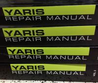 2011 Toyota Yaris Repair Manuals