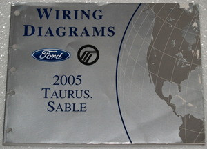 2005 ford taurus mercury sable electrical wiring diagrams. Black Bedroom Furniture Sets. Home Design Ideas