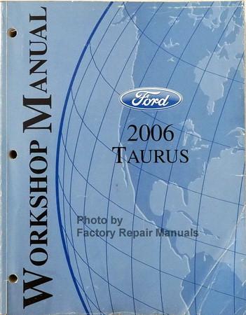 2006 2007 ford taurus factory service manual original shop repair rh factoryrepairmanuals com 2006 ford taurus factory service manual GPX 250 Factory Service Manual