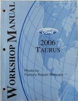 Ford 2006 Taurus Workshop Manual