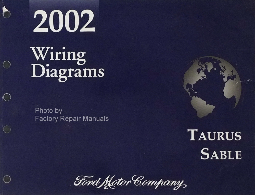 2002 ford taurus mercury sable electrical wiring diagrams original rh factoryrepairmanuals com