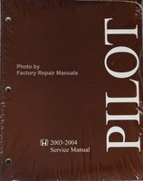 Honda 2003-2004 Service Manual Pilot Front View