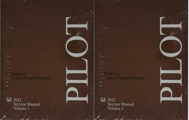 2011 honda pilot shop manual