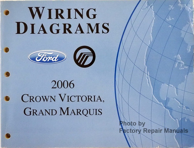 2006 Ford Crown Victoria  Mercury Grand Marquis Electrical