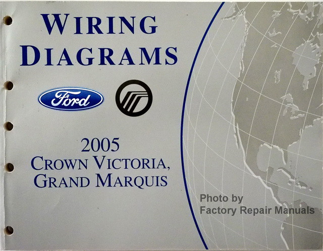 2005 ford crown victoria and mercury grand marquis electrical wiring rh factoryrepairmanuals com 2005 mercury grand marquis service manual 2009 Mercury Marquis Repair Manual