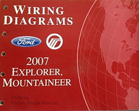 Wiring Diagrams Ford Mercury 2007 Explorer, Mountaineer