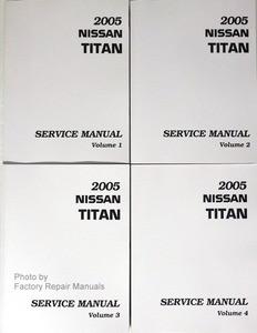 2005 nissan titan factory service manual complete 4 volume set rh factoryrepairmanuals com 2016 Nissan Titan 2016 Nissan Titan