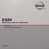 2006 Nissan Xterra ESM Electronic Service Manual
