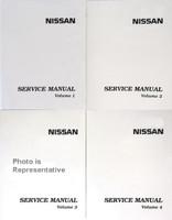 2005 Nissan X-Trail Factory Service Manual 4 Volume Set