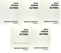 2006 Nissan Altima Factory Service Manual