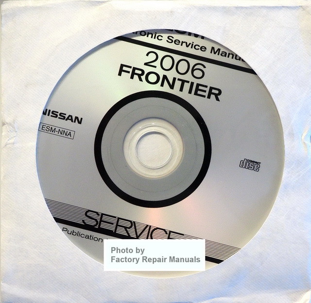 2006 Nissan Frontier Factory Service Manual Cd