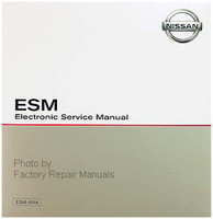 2000 Nissan Frontier ESM Electronic Service Manual