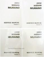 2004 Nissan Murano Factory Service Manuals