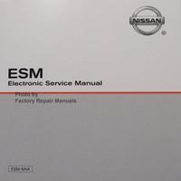 2009 Nissan Murano Electronic Service Manual