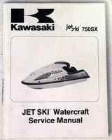 1992 1993 KAWASAKI JET SKI 750SX Service Manual JS750-A1 JS750-A2 Factory Repair