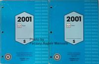 2001 Chevrolet Prizm Service Manual Volume 1, 2