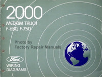 2000 Medium Truck F-650 F-750 Ford Wiring Diagrams
