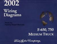 2002 Wiring Diagrams Ford F-650, 750 Medium Truck