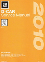 2010 Cadillac CTS & CTS-V Factory Shop Service Repair Manual 4 Volume Set